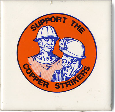Support the Copper Strikers
