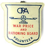 War Price and Rationing Board Volunteer