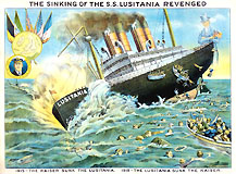 The Sinking of the S.S. Lusitania Revenged