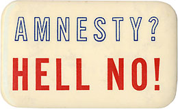 Amnesty? HELL NO!