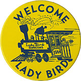 Welcome Lady Bird