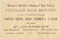 Suffrage Mass Meeting