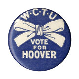 WCTU Vote for Hoover