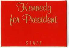Kennedy for President / STAFF