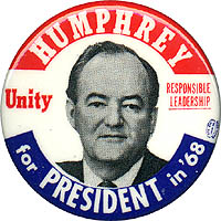 Humphrey for President in '68