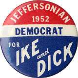 Jeffersonian Democrat for Ike and Dick