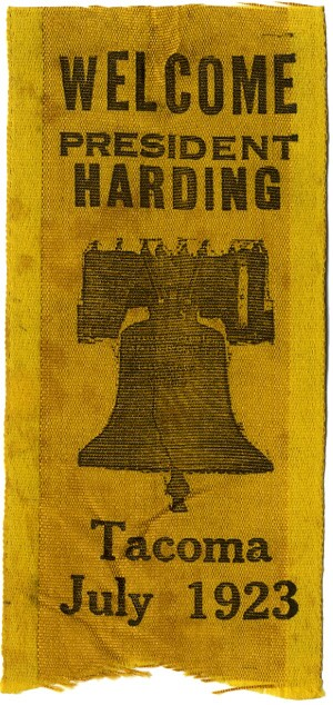 Welcome President Harding / Tacoma July 1923