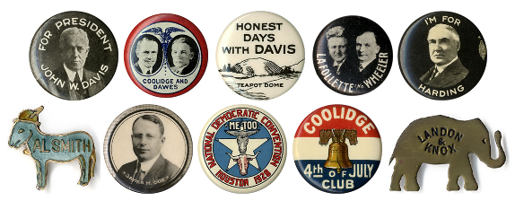 Between the Wars: Political artifacts of the 1920s and '30s