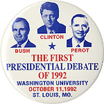 The First Presidential Debate of 1992