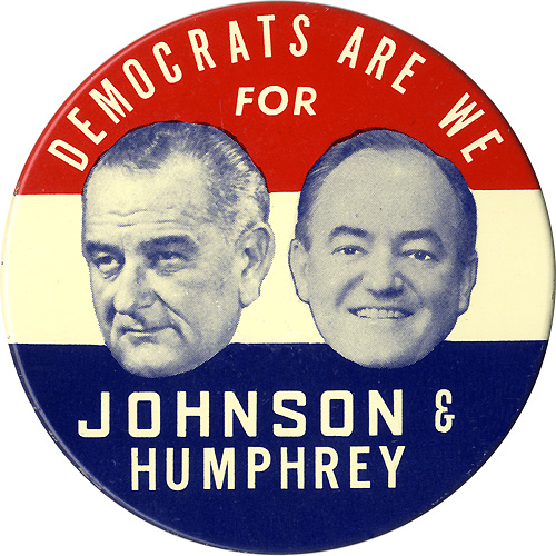 Democrats Are We for Johnson & Humphrey