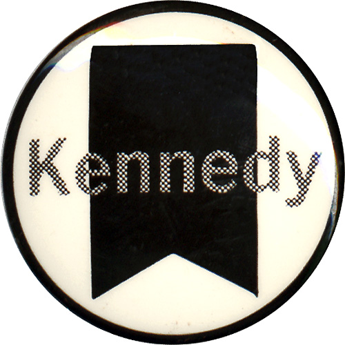 Robert Kennedy: San Jose Headquarters memorial button
