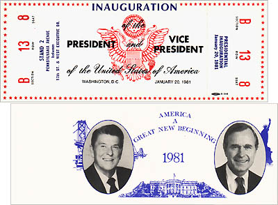 Inauguration of the President and Vice President