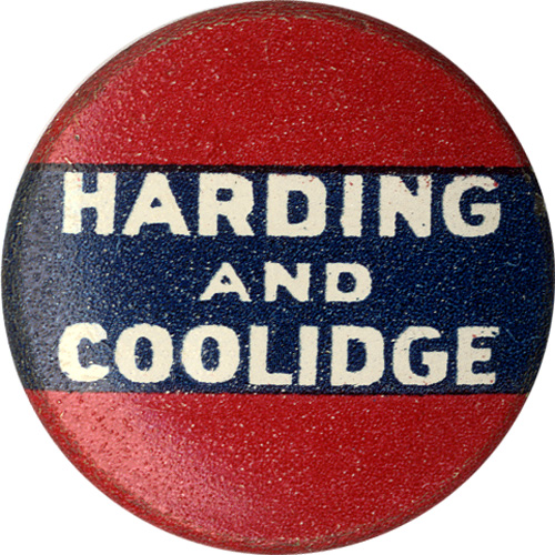 Harding and Coolidge