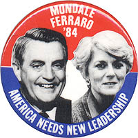 Mondale Ferraro '84 / America Needs New Leadership