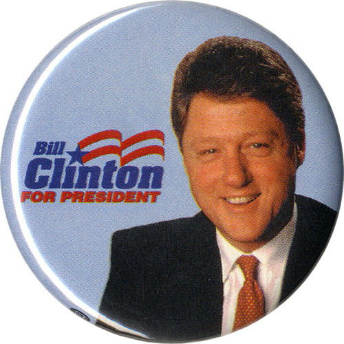 Bill Clinton for President