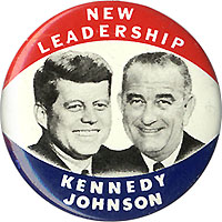 New Leadership Kennedy Johnson