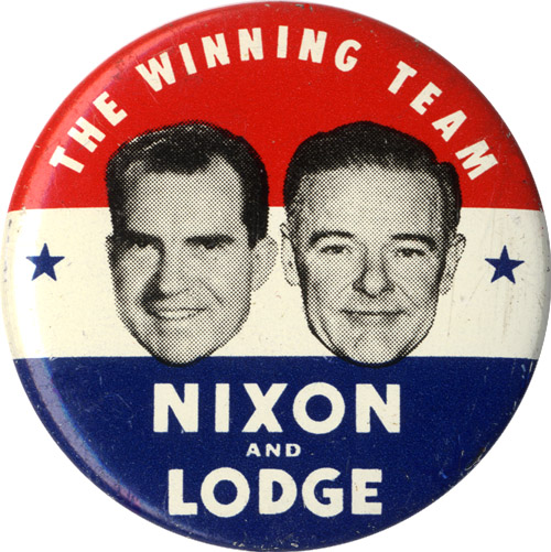 The Winning Team Nixon and Lodge