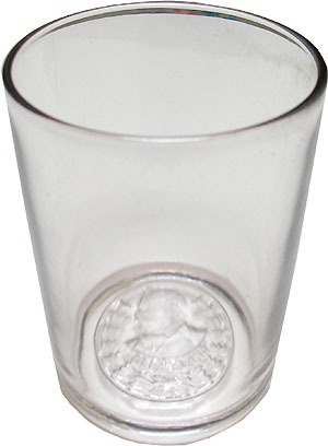 Grover Cleveland: Scarce glass campaign tumbler
