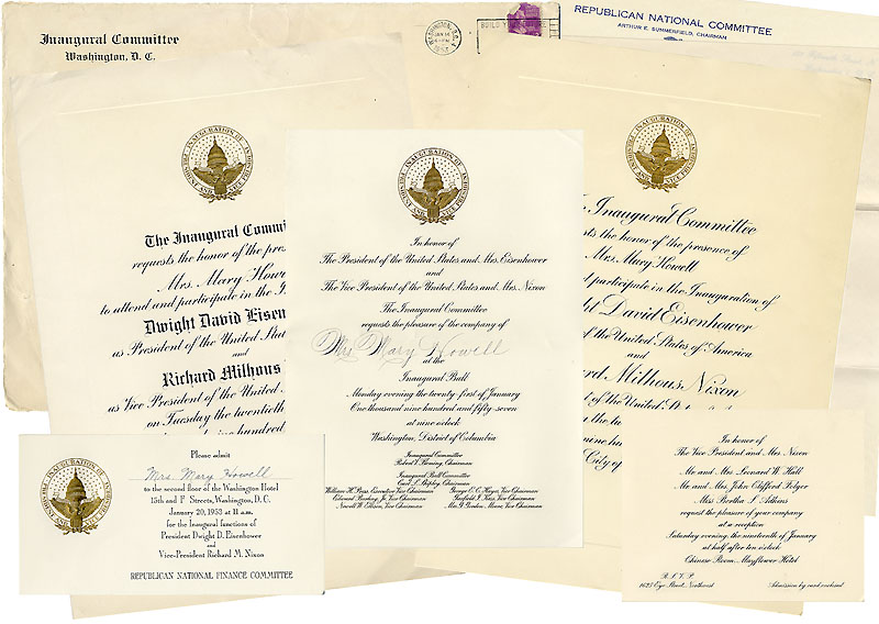 Eisenhower Inaugurations Archive