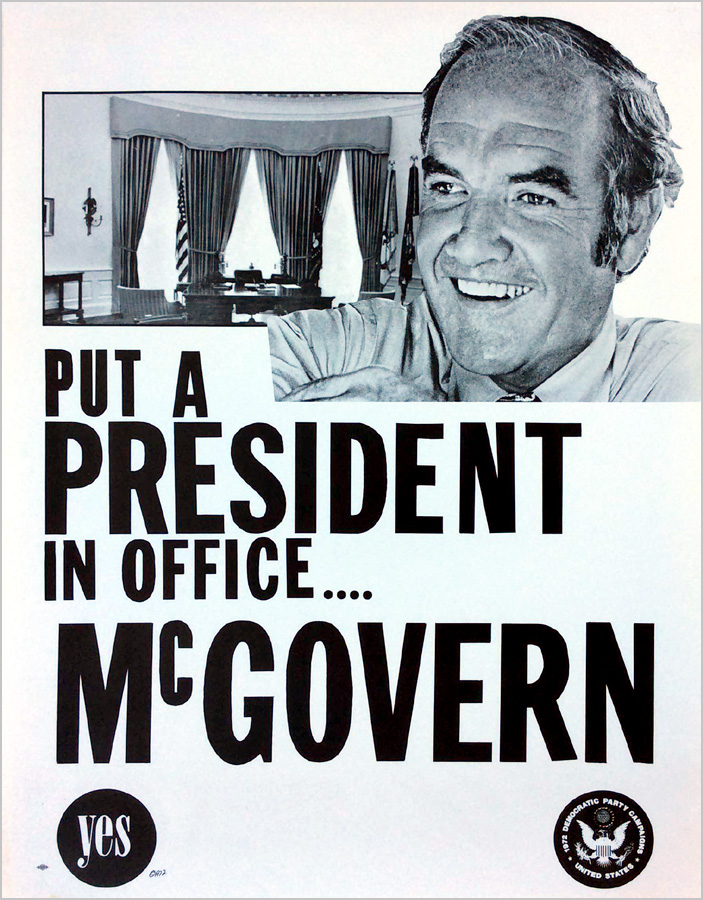 Put a President in Office... McGovern