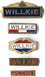 LOT: Wendell Willkie bar pins