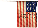 To help buy a Flag for our Boy Scout Troop.