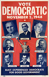 Vote Democratic November 2, 1948
