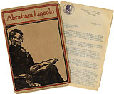 Abraham Lincoln: Ida Tarbell biography promotional material