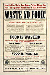 WASTE NO FOOD!