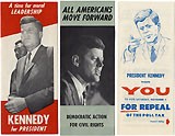 John F. Kennedy: Civil Rights brochures