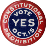Constitutional Prohibition / Vote YES Oct. 15