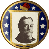 William Howard Taft: Liberty cap pinback
