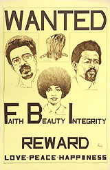 Black Panthers: Rare H. Rap Brown, Angela Davis, Eldridge Cleaver FBI