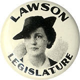 Lawson Legislature: Early female candidate