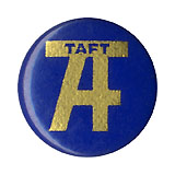 William Howard Taft: Composite letter button