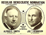 Smith and Robinson: Regular Democratic Nomination large jugate poster