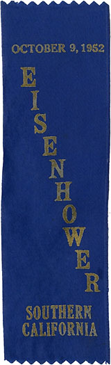 Dwight Eisenhower: Southern California one-day event ribbon