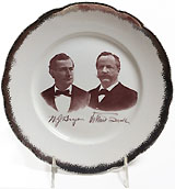 Bryan and Sewall: Unusual jugate campaign plate