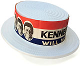 John F. Kennedy: KENNEDY WILL WIN convention skimmer