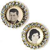 John & Jacqueline Kennedy: Matching jewelry brooches