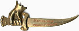 World War II Home Front: Rare REMEMBER PEARL HARBOR sword badge