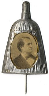 William Jennings Bryan: Classic broom badge
