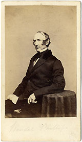 Wendell Phillips: 1860s CDV portrait of noted abolitionist, reformer