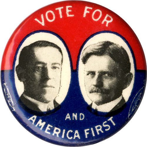 Vote for Wilson and Marshall and America First