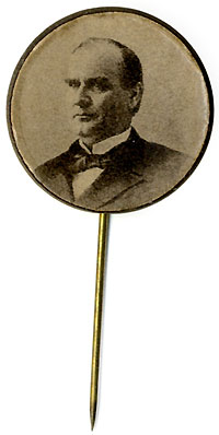 William McKinley: Photo portrait badge