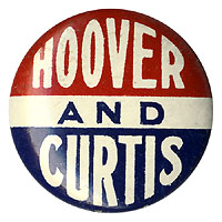 Hoover and Curtis: Uncommon logo button