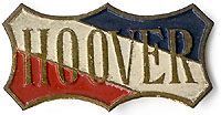 Herbert Hoover: Unusual HOOVER shield lapel pin