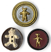 Theodore Roosevelt: Teddy Bear clothing buttons