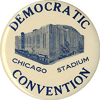 Franklin D. Roosevelt: 1944 Chicago DNC souvenir button
