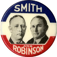 Smith and Robinson: Rare jugate pinback